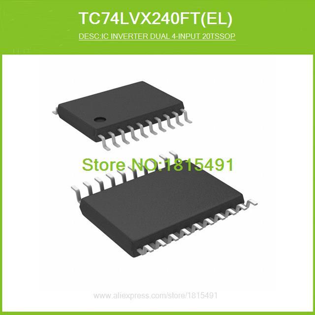 Free Shipping TC74LVX240FT(EL) IC INVERTER DUAL 4-INPUT 20TSSOP TC74LVX240FT 240 TC74LVX240 20-TSSOP 50pcs(China (Mainland))