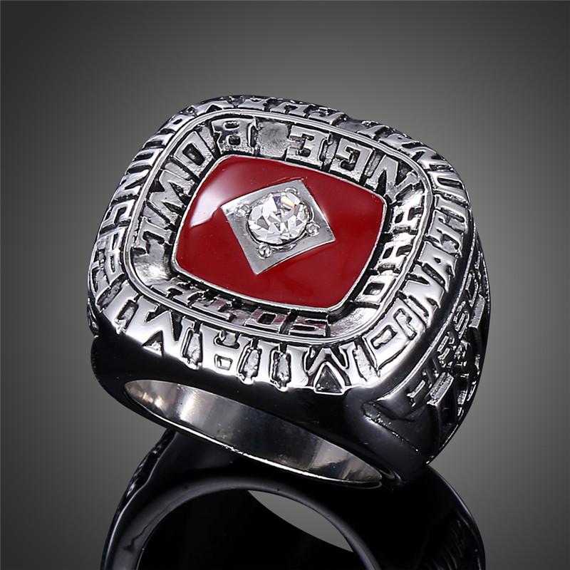 1983 University of Miami Hurricanes UM Baseball Team Replica Super Bowl Rings for Men J02114(China (Mainland))