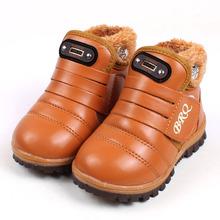 2015 mode enfants hiver neige bottes Casual bonbons couleur enfants bottes Plus de velours garçons filles bottes chaussures Sneakers X06(China (Mainland))