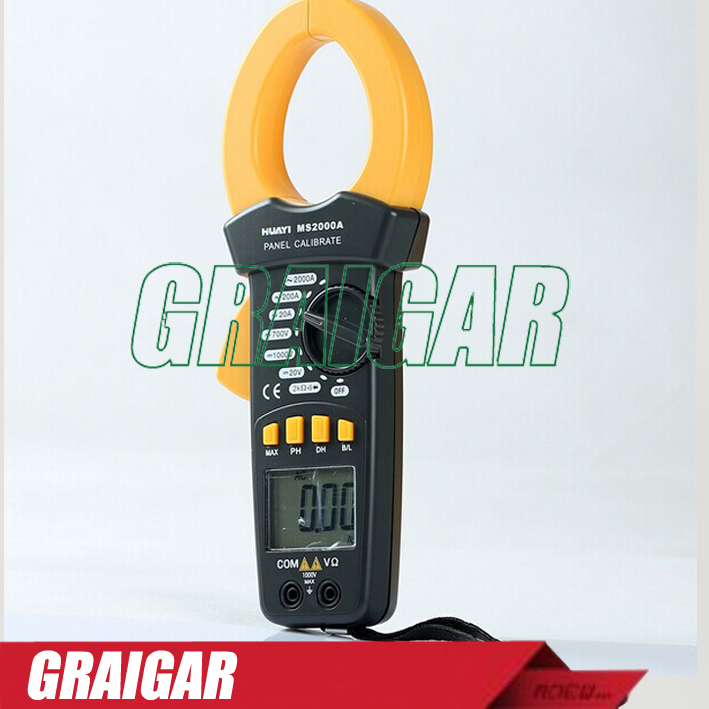 Digital High Voltage Clamp Meter Electrical Instrument Meter MS2000A<br><br>Aliexpress
