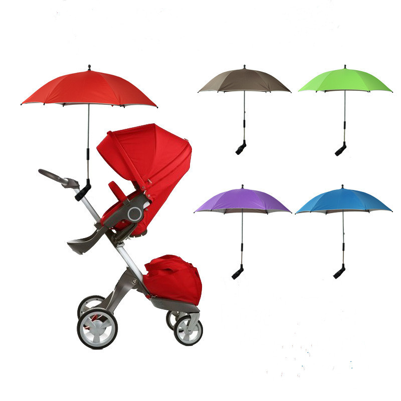 Maclaren Baby Stroller Accessories Parasol Umbrella Anti-UV Umbrella Bebe For Toddler Madden Infant Girls Boys B004(China (Mainland))