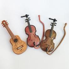 1 Pcs  New Fashion Doll accessories Musical Instruments for barbie doll  DIY Violin  for  BJD Doll 1 / 6(China (Mainland))