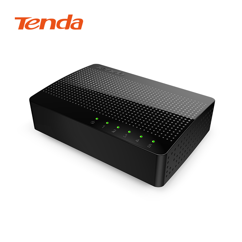 Tenda SG105 Network 5 Port Gigabit Switch 10/100/1000Mbps Fast Ethernet Switche Lan Hub Full/Half duplex Exchange for home(China (Mainland))