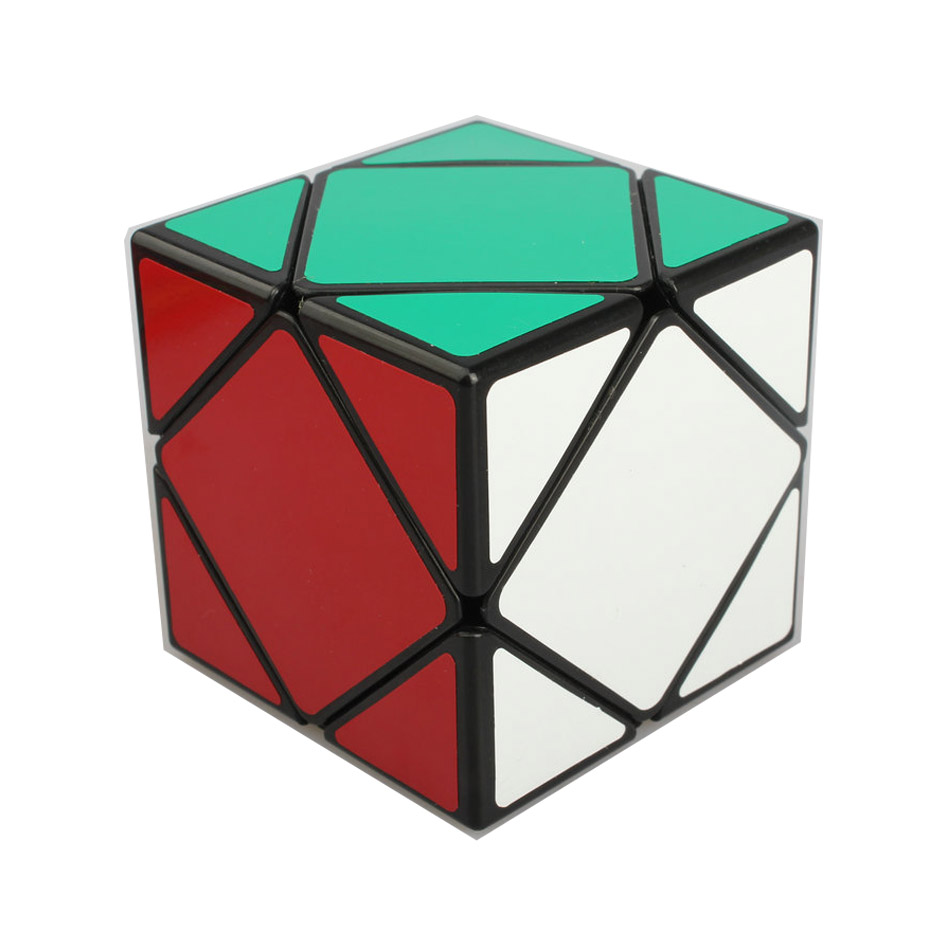 SHENGSHOU Magic Cube SS Skew Cube PVC Sticker Magico Cubo Puzzle Blocks Cube Challenge Educational Kids Gifts Toys 1322(China (Mainland))