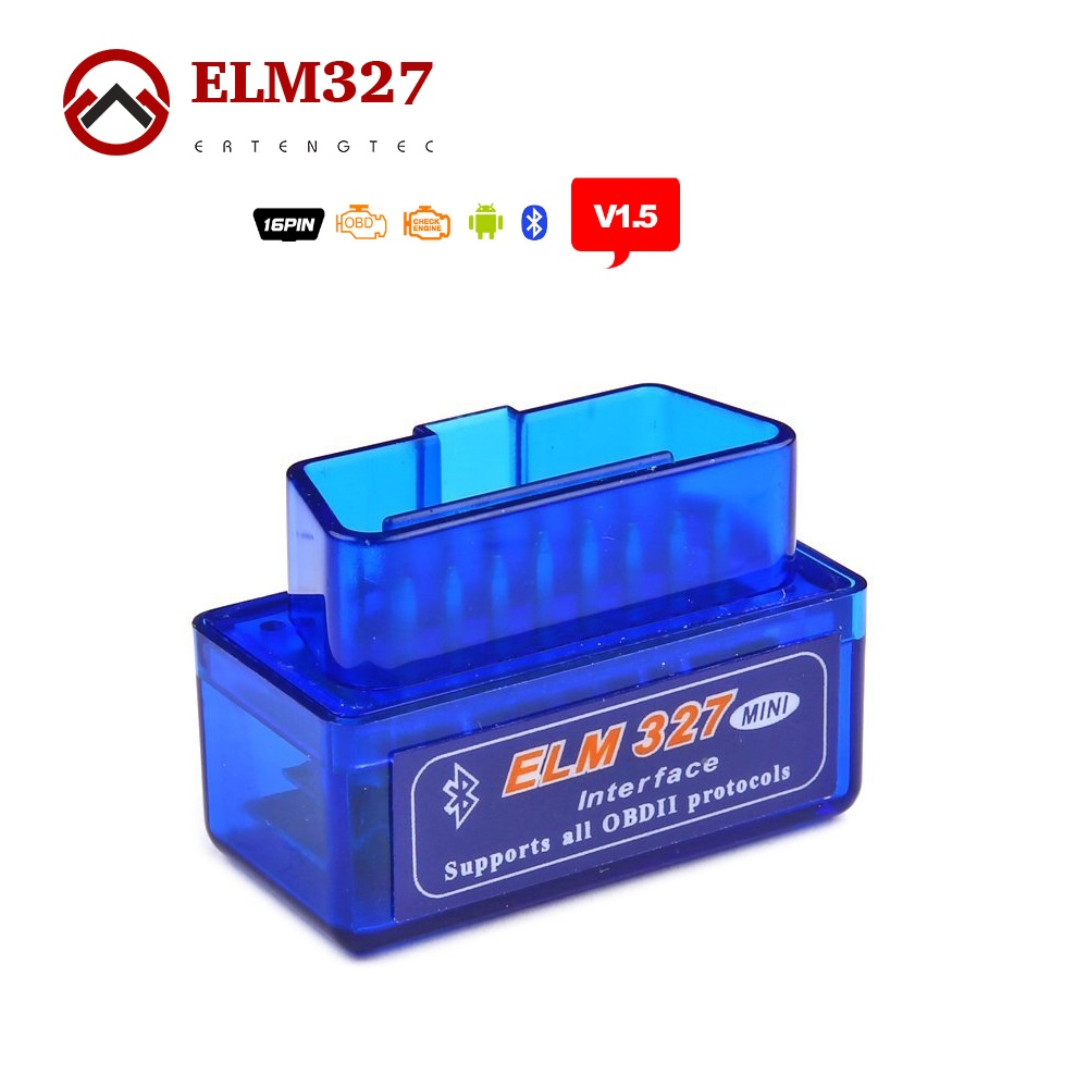 Super MINI ELM327 Bluetooth V1.5 ELM 327 Version 1.5 For Android /PC Car Code Scanner With OBD2 / OBDII Can(China (Mainland))