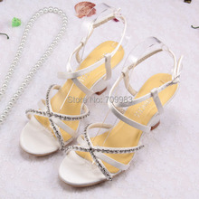 Women Designer Sandals Gladiator Bling Party Supplies Crystal Wedding Wedge Shoes(China (Mainland))