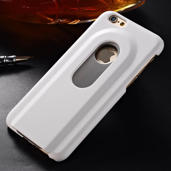 beers bottle opener hard case for iphone 6 4 7 inch aluminum back cover ebay. Black Bedroom Furniture Sets. Home Design Ideas
