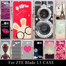 Buy ZTE Blade L3 L 3 Case Soft Silicone Colorful Printing Drawing Transparent Plastic Phone Cover tpu mobile Phone Cases for $2.30 in AliExpress store