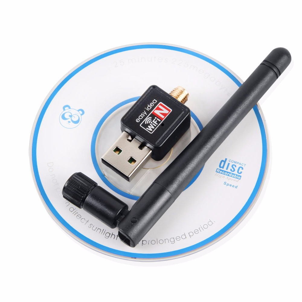 NEW USB Wireless Network Lan Card 150Mbps with 2dB antenna 2.4G Portable Strong Reception Signal Wifi Adapter Router Free Ship(China (Mainland))