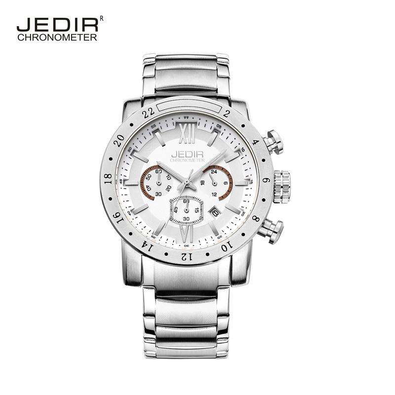 JEDIR 2016 brand luxury men's watch Men's waterproof Cycling fashion sport wristwatch genuine male table luminous hands(China (Mainland))