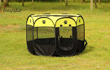 2017 Pet Cage Supplies Oxford Dog Carrier Dog Playpen For Dog Cat Fence Kennel Dog House Outdoor Cat House Playpen Exercise(China (Mainland))