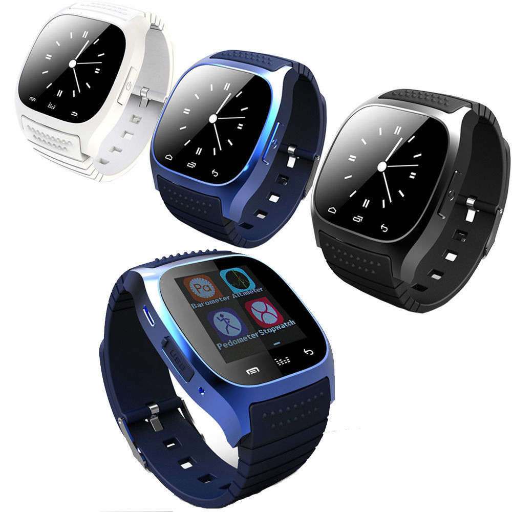 Fashion Smartwatch M26 Bluetooth Smart Wrist Watch Mate For Android Samsung LG New