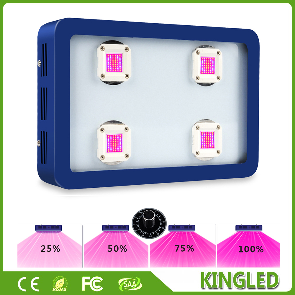 Dimmable BESTVA X4 800w Blue LED Grow Light Full Spectrum LED Grow Light For Indoor Plants Growing Flowering plant light(China (Mainland))