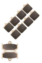 Buy Brake Shoe Pads set MV AGUSTA F4 1000 CC R R1&1 Brembo4 piston caliper 2007 2008 2009 2010 2011 2012 2013 2014 2015 for $8.34 in AliExpress store