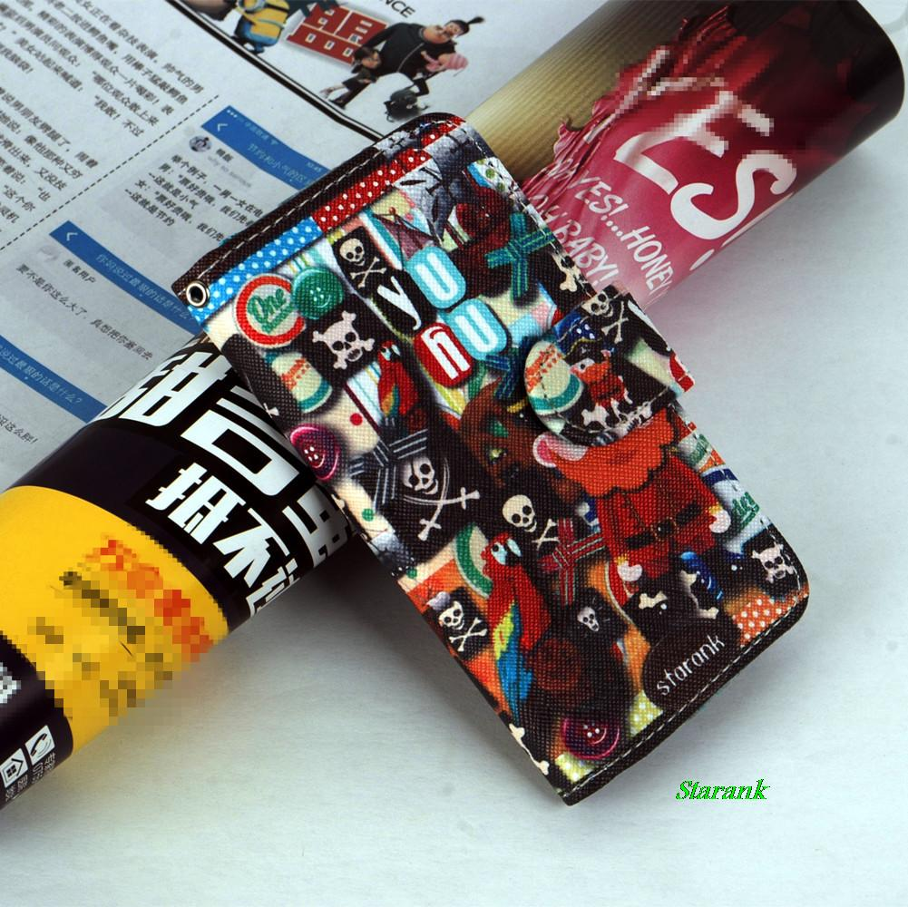 Flip Case Wallet,Card Slot and Money Slot Hard Cover Flip Case For HTC Desire 400 T528w Of small animals(China (Mainland))