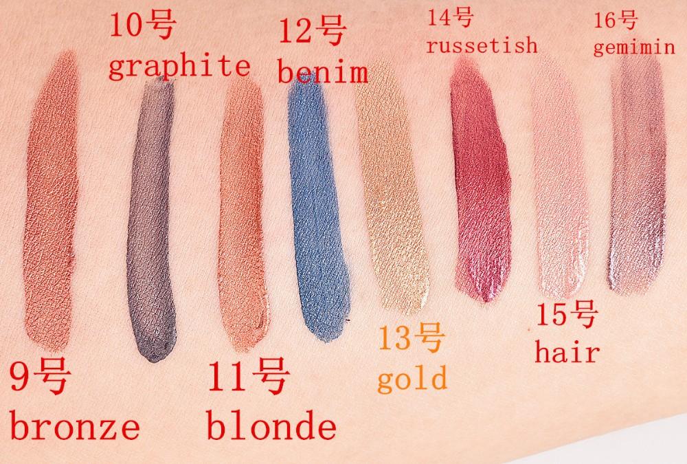 Venda quente Maquiagem 16 Cores de Batom Matte Batom Líquido Gloss Batom de Longa Duração Nudez Metallic Lipgloss Cosméticos 2253 #