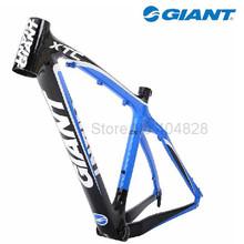 100% Original 16''/18'' GIANT XTC Carbon Fibre MTB Frame,1200g/1300g.For 26'' Wheel. Black & Red Wholesale Price(China (Mainland))