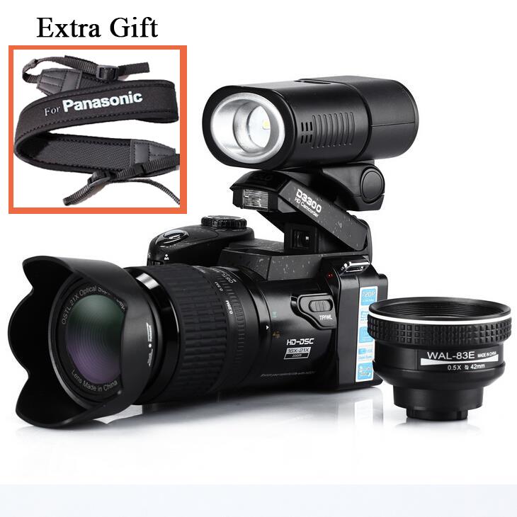 PROTAX 16MP D3300 Digital Cameras professional Cameras HD Camcorders DSLR Cameras Wide Angle 21x Telephoto Lens Camara Digital(China (Mainland))