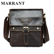 MARRANT Genuine Leather Men Bags Hot Sale Male Small Messenger Bag Man Fashion Crossbody Shoulder Bag Men's Travel New Bags 9040(China (Mainland))