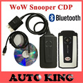 2016 Best wow snooper with Bluetooth v5 008R2 dvd TCS cdp pro obd2 scan for cars