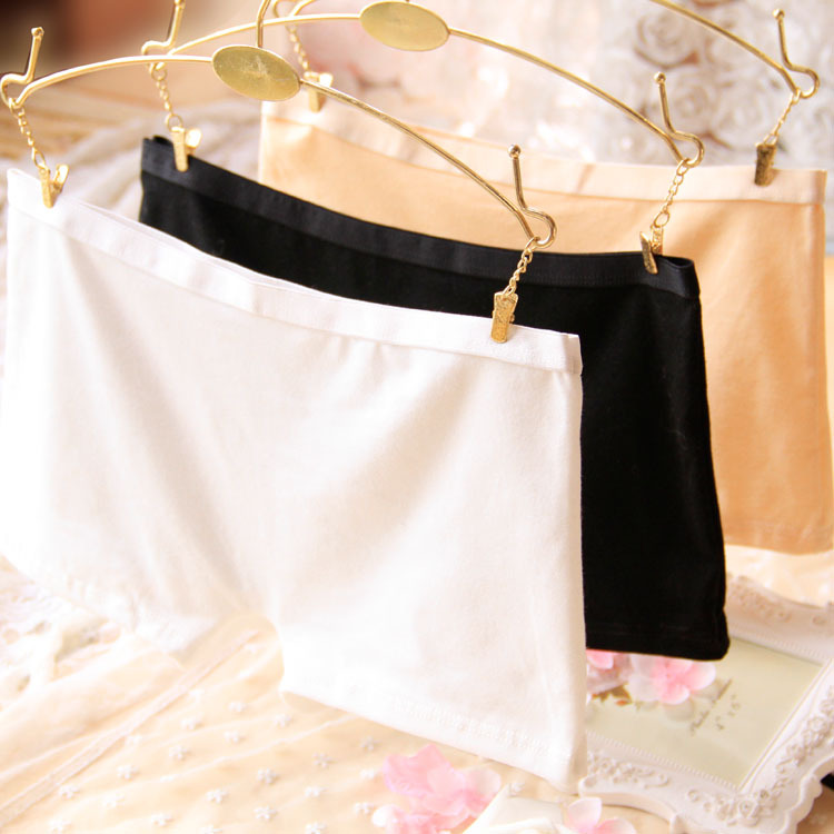 Sexy Panties Women Pink Boxer Briefs Cotton Underwear Women Sexy Lingerie High Quality Solid Boyshort Mid-rise Panties Wholesale(China (Mainland))