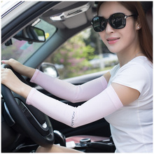 2016 Summer Hot Sale Women or Men Arm Warmers Sports Cycling Arm Sleeves Sun UV Protection for Bicycle Outdoor Fishing Climbing(China (Mainland))