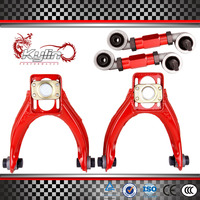 ADJUSTABLE POWDER FRONT CAMBER KIT FOR 96 00 FOR HONDA CIVIC EK + GODSPEED REAR ADJUSTABLE CAMBER ARM KIT FIT FOR CIVIC
