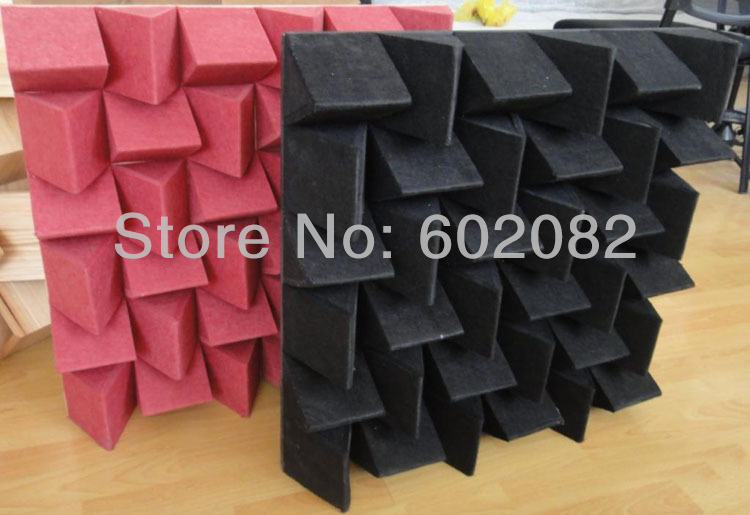 New Arrival Polyester Acoustic Panels 5pcs/lot High Quality  40Color for your choice Free Shipping<br><br>Aliexpress