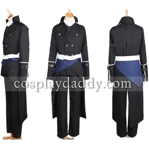 Hakuouki Hajime Saito Dress Cosplay Costume Custom made newОдежда и ак�е��уары<br><br><br>Aliexpress