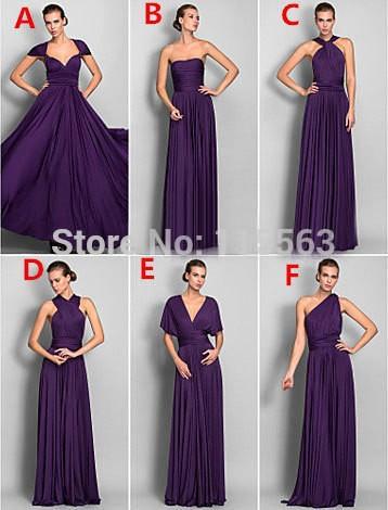 Long Purple Bridesmaid Dresses Under 100 - Wedding Dress Ideas