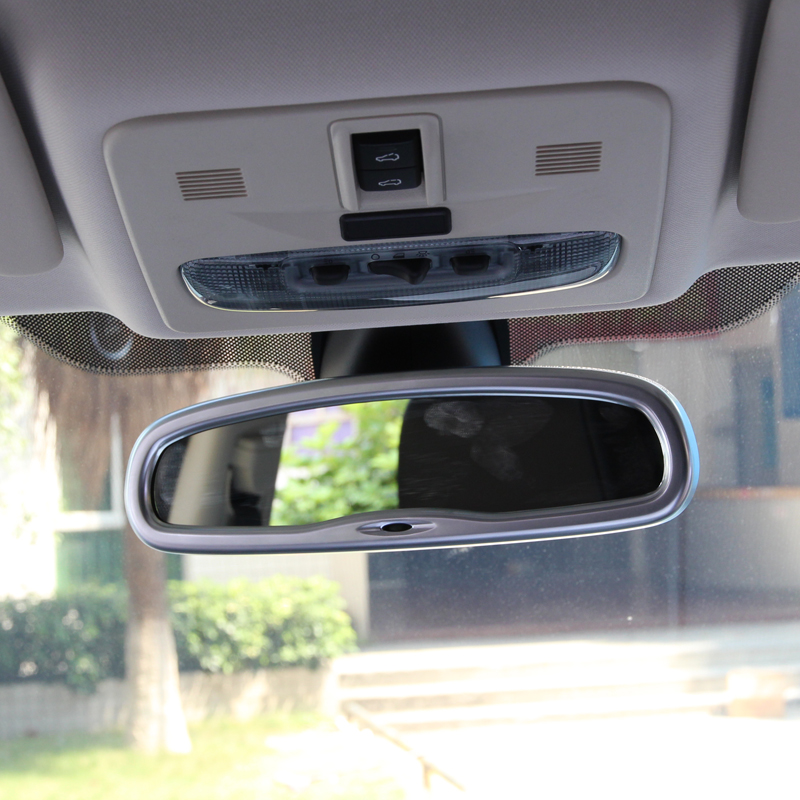 Chrome Rearview Mirror Frame For Land Rover Freelander 2 Accessories Car Styling <br><br>Aliexpress