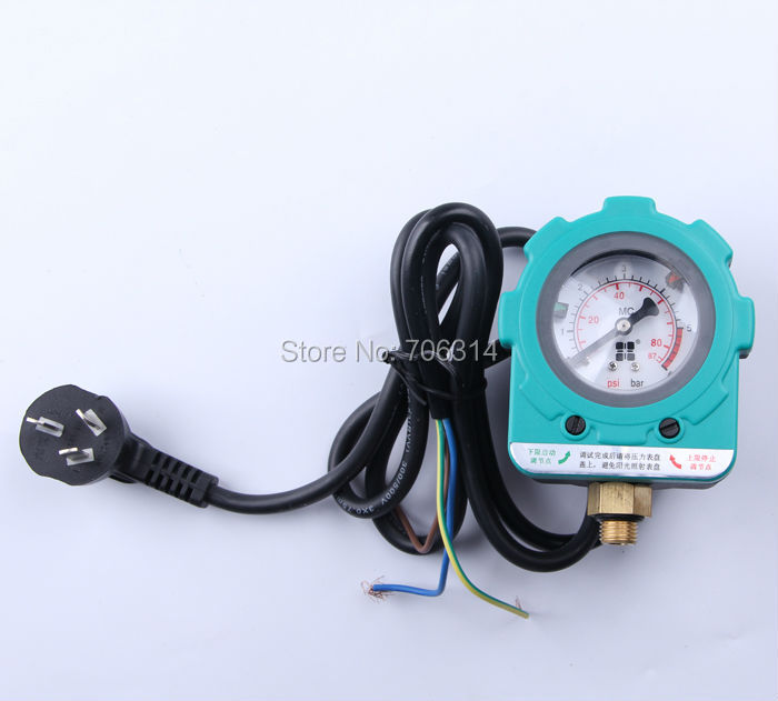 AU plug pressure switch for water pump 6 bars.electric pressure switch.pressure controller(China (Mainland))