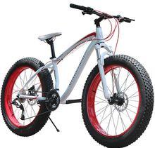 TOP Aluminum High speed Aluminium mountain bike frame 26*4.0 fat tire bicycle fat bike snow bike heavy-load bicycle beach bike