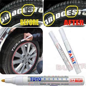 Шин постоянный краска Pen шин металл открытый маркировка чернила маркер творческий Autuo автомобили шин краска уход