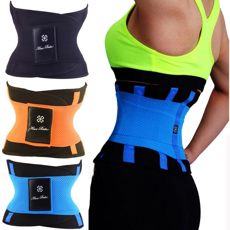 2017 Waist Trainer Cincher Man Women Xtreme Thermo Power Hot Body Shaper Girdle Belt Underbust Control Corset Firm Slimming