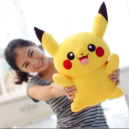 Free Shipping Hot Sale 22cm Special Offer Pikachu Plush Toys Very Cute Pokemon Plush Toys for Children's Gift High Quality(China (Mainland))