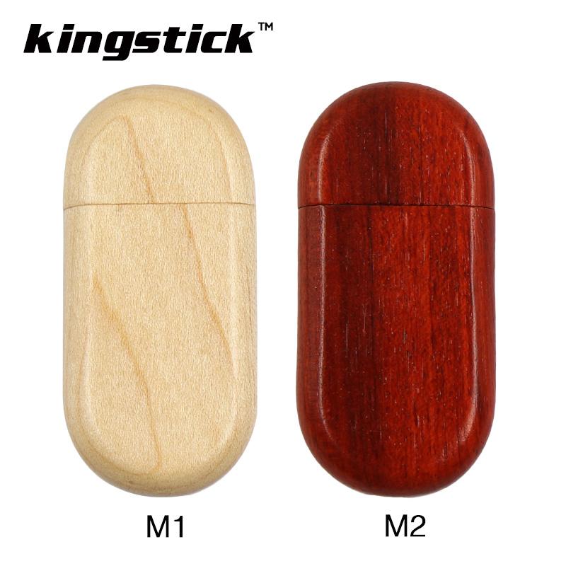 Kingstick wooden USB flash drive pendrive real capacity pen drive cute pen drive 64gb 32gb 16gb 8gb 4gb(China (Mainland))