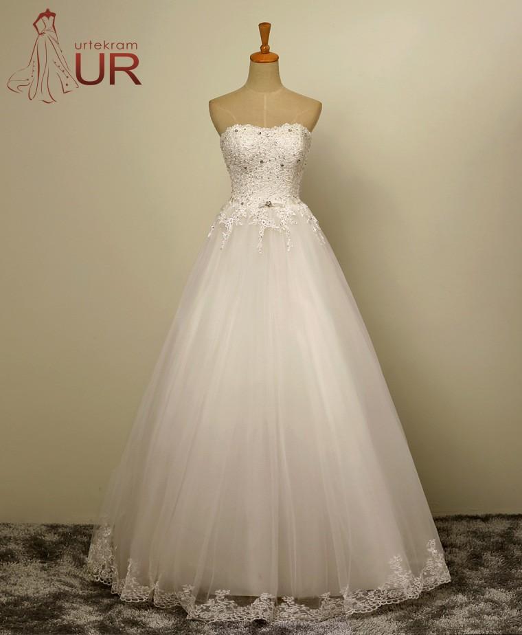FREE SHIPPING The new summer 2016 ms shining diamond bride of tall waist white large thin dress code(China (Mainland))