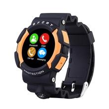 Умный часы водонепроницаемый телефон A10 наручные Inteligente Reloj робот-с-компас шагомер сидячий напомнить сердечного ритма удаленной камеры