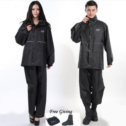 Safe Reflective Motorcycle Raincoat Women Rain Coat impermeable capa de chuva de motoqueiro Men Jacket casacos PVC Hood Hiking(China (Mainland))