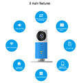 HD 720P P2P Wireless Intercom Camera Smart Phone Monitoring IP Camera