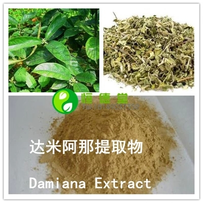Free shipping Damiana extract Damia then extract powder 200g(China (Mainland))