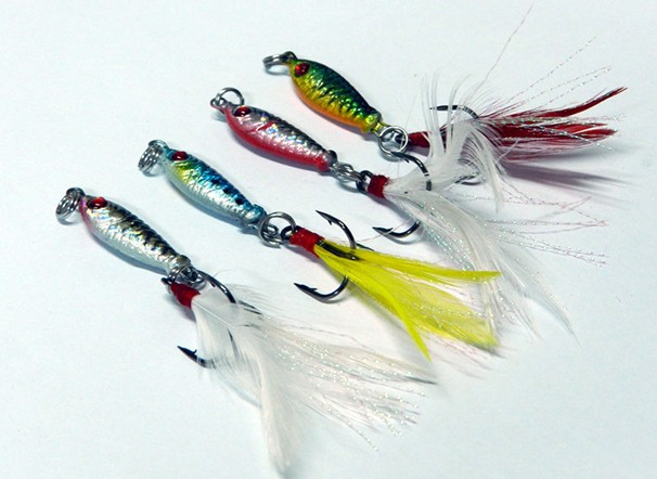 Buy pesca 4pc fly fishing lure china for Tying a fishing lure