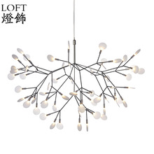Heracleum II Small Pendant Lights Tree Leaf Vintage LED Lamps Fixtures By Bertjan Pot From Moooi Suspension Lamp Home Lighting(China (Mainland))