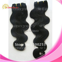 Body Wave Natural Color Indian Virgin Human Hair Weft Unprocessed Human Hair Extension Sunnymay Hair Products