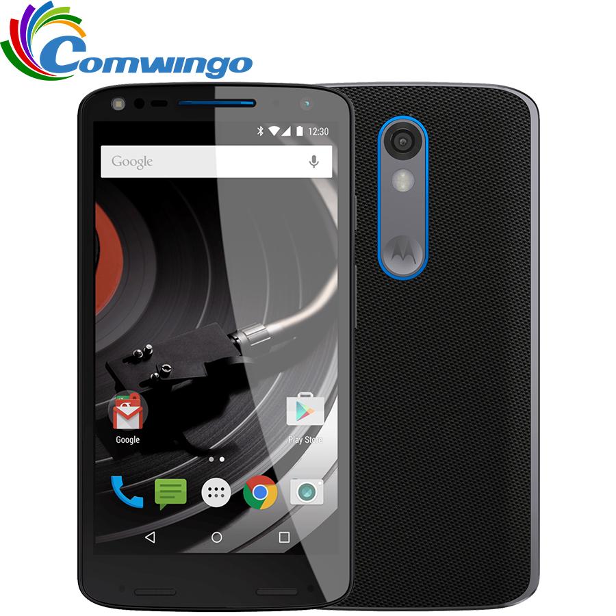 "100% Original Motorola DROID turbo 2 XT1585 3GB RAM 32GB ROM 4G LTE Mobile Phone 21MP 2560x1440 5.4"" 64bit Snapdragon810 Phone(China (Mainland))"
