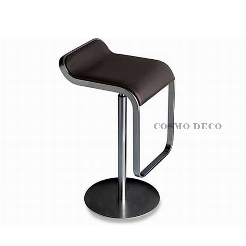 Cheap Scandinavian design fashion personality casual leather classic simplicity home lift bar stool chairs(China (Mainland))