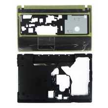 "NEW Lenovo G570 G575 Bottom Base Cover Case & Palmrest Upper Case ""HDMI"" Combo Free Shipping(China (Mainland))"