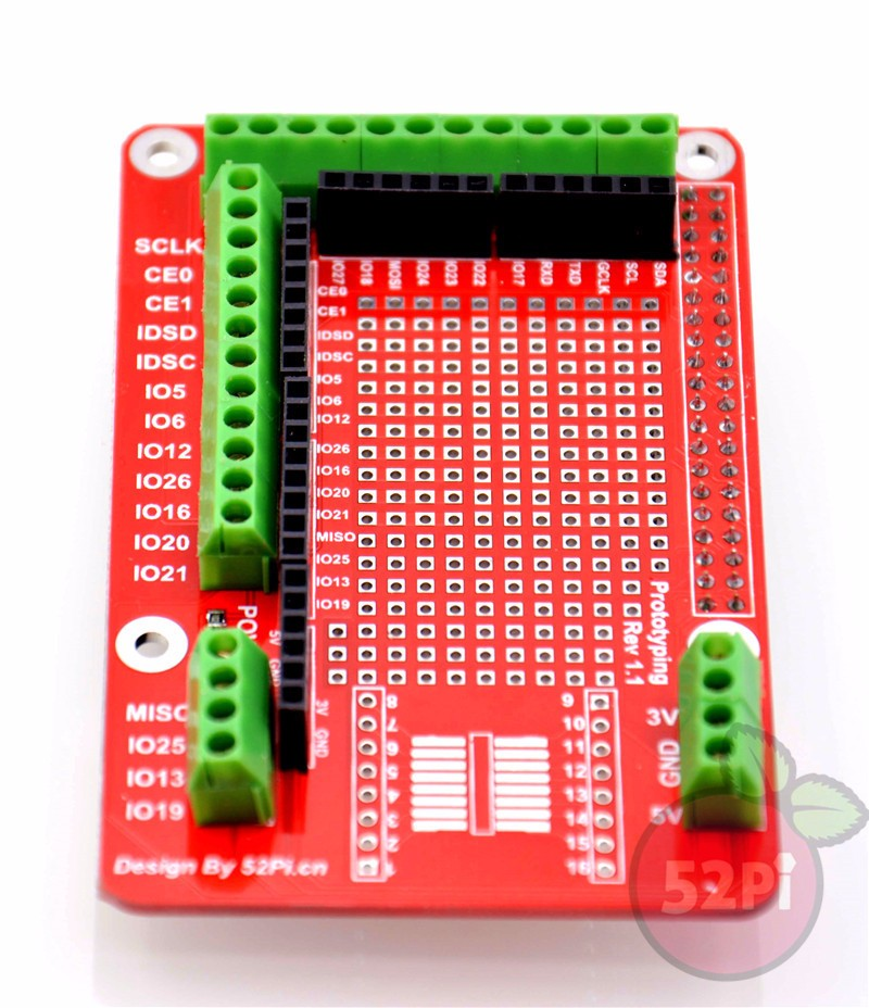 Original Raspberry Pi 2/3/B+ Accessories prototype Pi board Prototyping Pi Plate Free Shipping