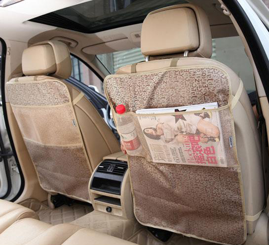 car seat protector mat Seat Back Protector Case Cover For Children Kick Mat Mud Clean black beige waterproof car seat covers(China (Mainland))